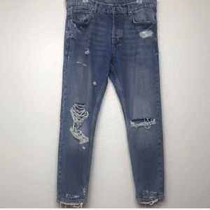 Zara Man Distressed/Destroyed Jeans